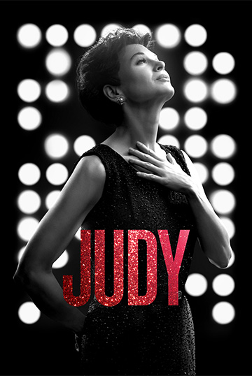 Renee Zellweger stars as Judy Garland