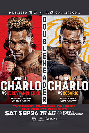 Boxers Jermall and Jermell Charlo