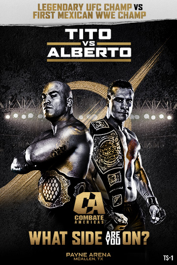 Tito Ortiz back-to-back with Alberto El Patron