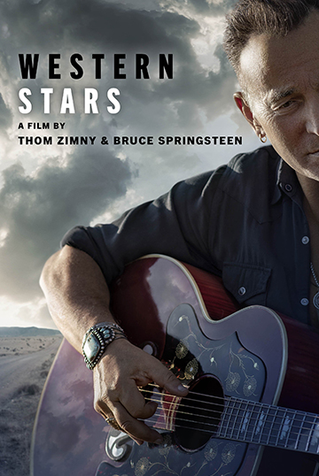 Western Stars: Bruce Springsteen playing a guitar
