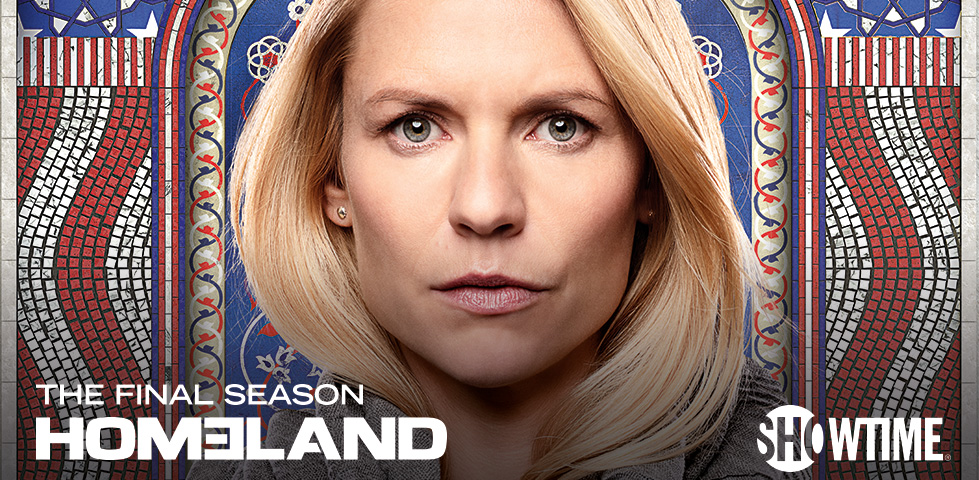 Claire Danes stars in Homeland on Showtime