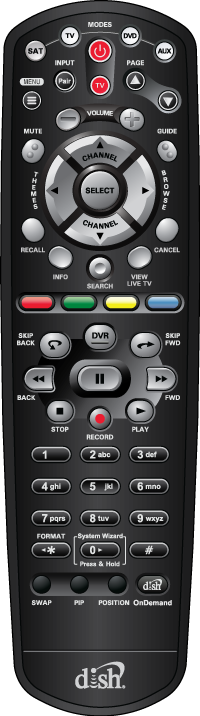 DISH 40 0 Remote Control Support   MyDISH