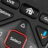 54-series voice remote with diamond-shaped arrow pad