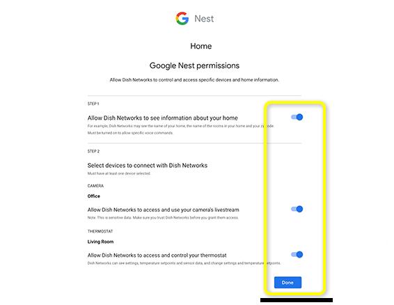 Integrate Google <b>Nest</b> with your DISH Hopper | MyDISH