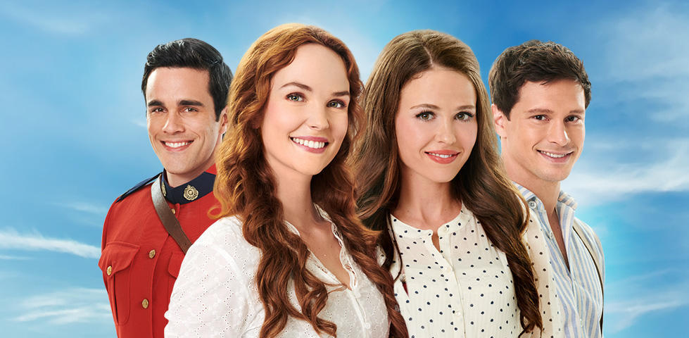 Morgan Kohan and Jocelyn Hudon star in When Hope Calls, on Hallmark Movies Now
