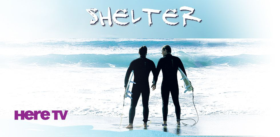 Two surfers standing next to each other | Shelter, on Here TV