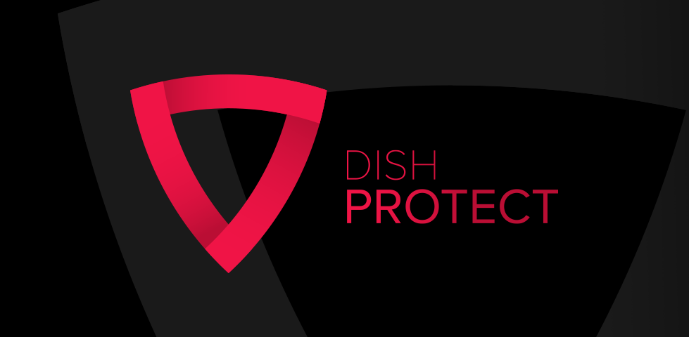 DISH Protect shield logo